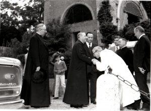L'arrivo del Patriarca di Venezia Albino Luciani